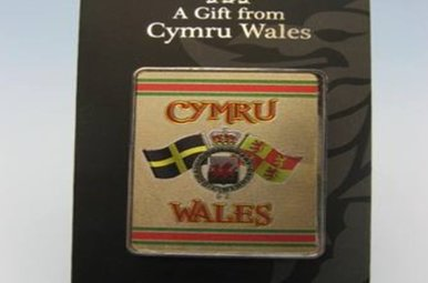 Magnet: Crests of Wales, Foil