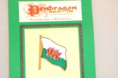 Pin: Wales Flag