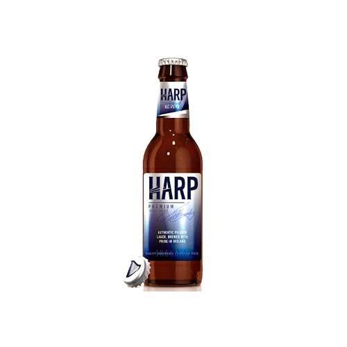 Harp Beer: Harp Premium Lager, Single Bottle