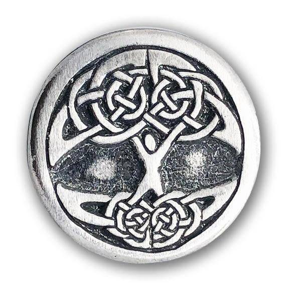 Lapel Pin: Pewter Tree of Life