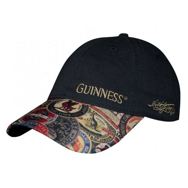Hat: Baseball Guinness Vintage Label