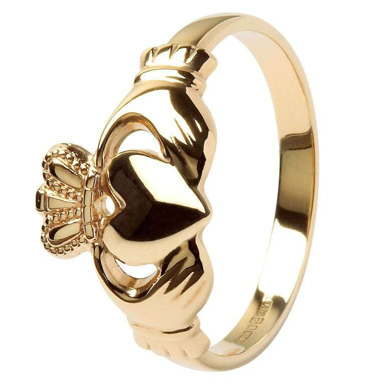Ring: 10K Gold Claddagh