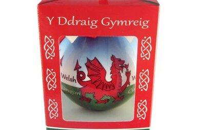 Ornament: Welsh Dragon