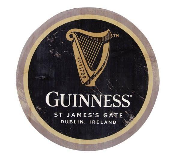 Guinness: Harp Wooden Bottle Top