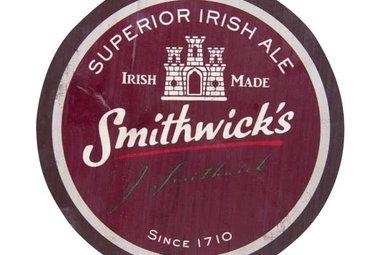 Smithwicks:  Wooden Bottle Top