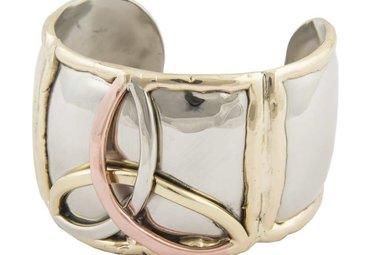 Bracelet: Silver 3 Color Trinity Knot