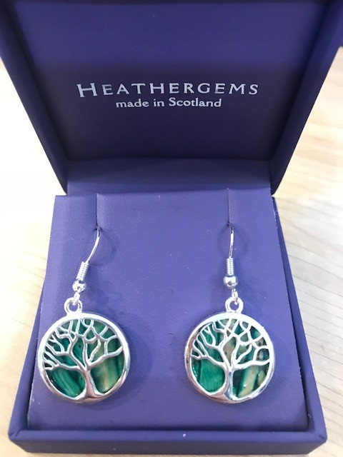 Earring: Heather Gems Tree of Life