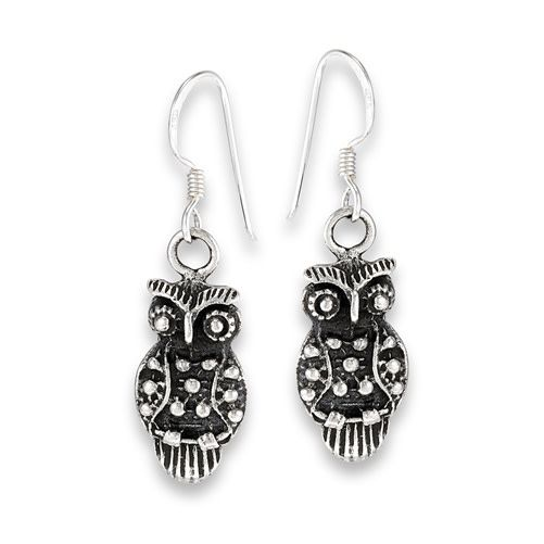 Earrings: SS Owl