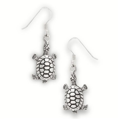 Earrings: SS Turtle