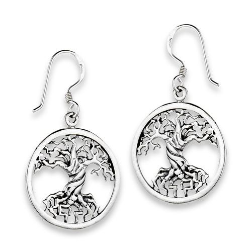 Earrings: SS Tree of Life