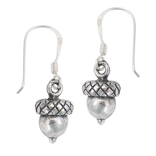 Earrings: SS Acorn