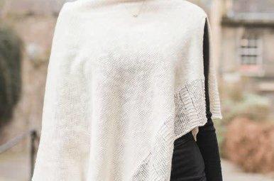 Cape: Linen & Cotton Ecru