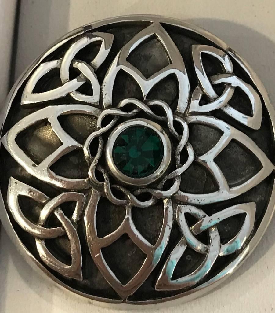 Brooch: Celtic Knotwork