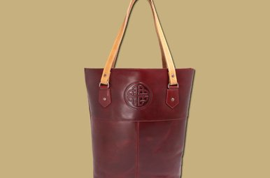 Bag: Red Leather