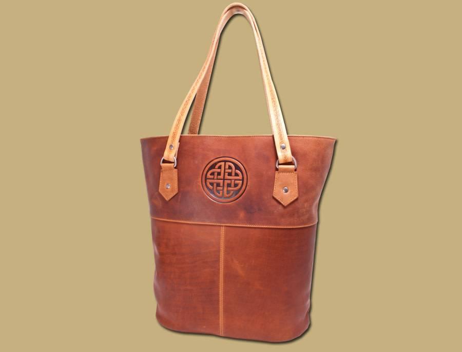 Bag: Rustic Tan Leather