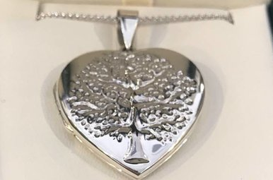 Pendent: SS Locket Tree of Life