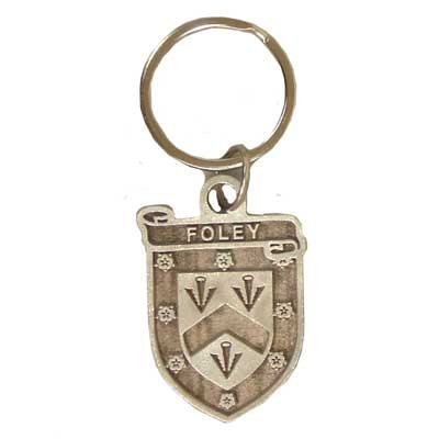 Keychain: Pewter Clan Irish