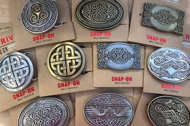 Belt: Buckle Celtic Assorted