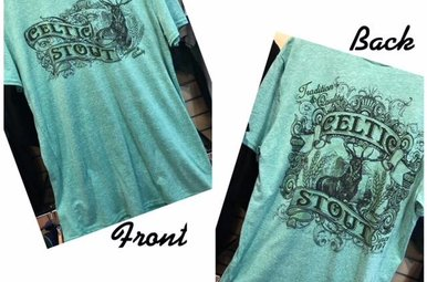 T Shirt: Celtic Stout Short Sleeve