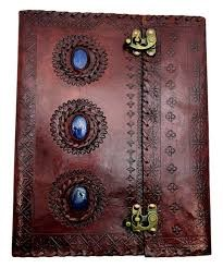 Journal: Three stone, double lock, 10x13