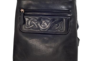 Bag: Mary Leather Black