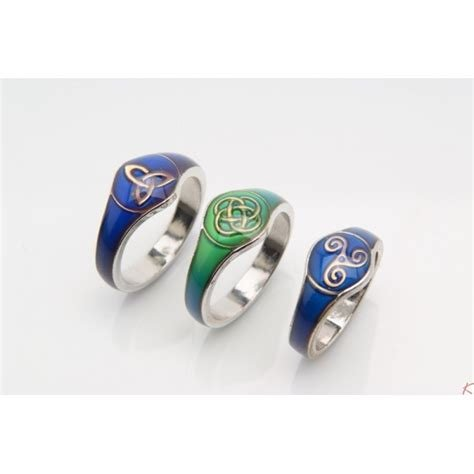 Ring: Mood Ring Knotwork