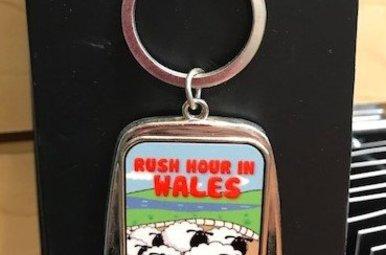 Keychain: Wales Rush Hour Bottle Opener