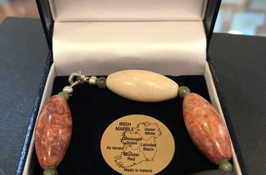Bracelet: Connemara Marble 9