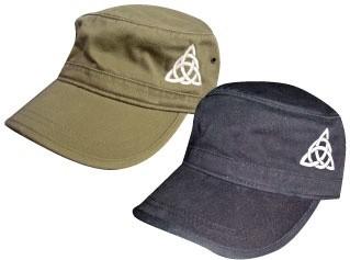 Hat: Black Corps Hat Trinity Knot
