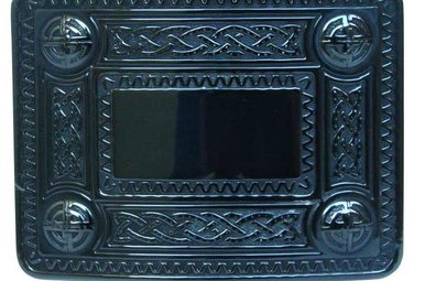Buckle: Celtic Knot Black