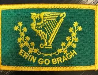 Patch: Erin Go Bragh Flag