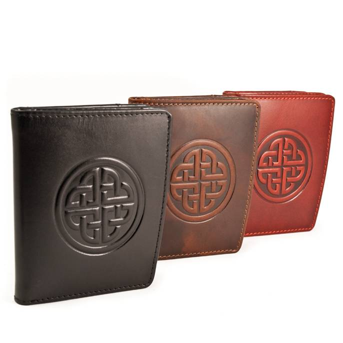 Wallet: Caitlin Ladies Knot Red