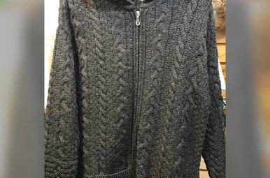 Sweater: Zip Hoodie, Long