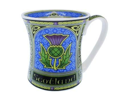 Clara Mug: Scottish Thistle Window