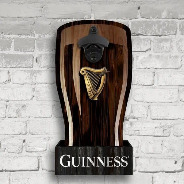 Guinness: Wall Mount Harp Bottle Opener