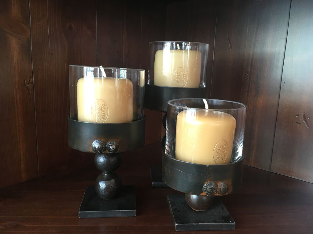 JANB Triple Ball Candle Holder