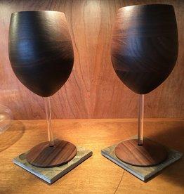RASMU Wood Wine Glass