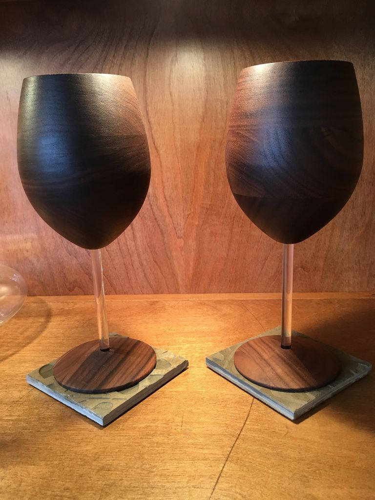 RASMU Wood Wine Glass