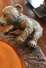 VAGA WOOD BEAR BOWL