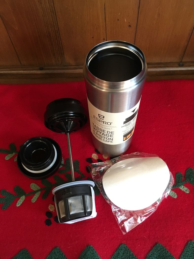 ESPRO ESPRO TRAVEL PRESS STAINLESS