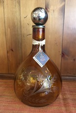 JANB Saffron Decanter With Nickel Stopper