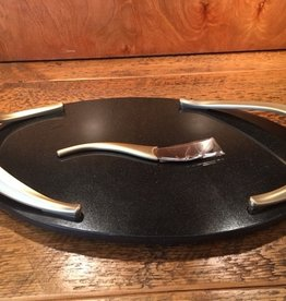 NAMBE Bronze Leaf Cheese Set