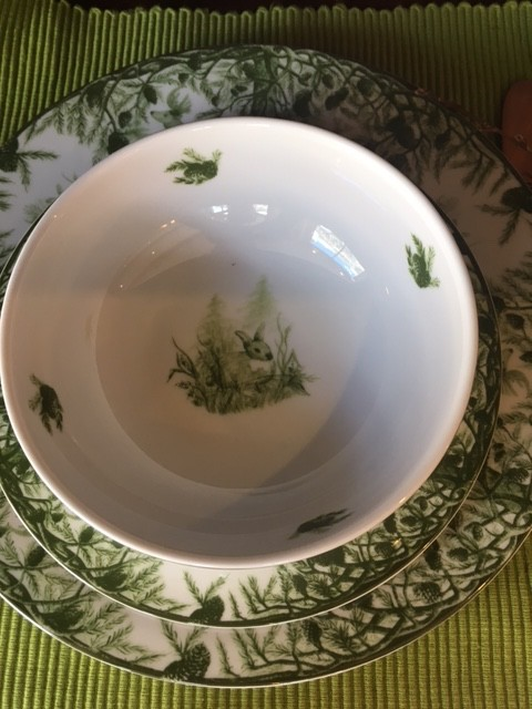 CEC ALPINE STAG CEREAL BOWL