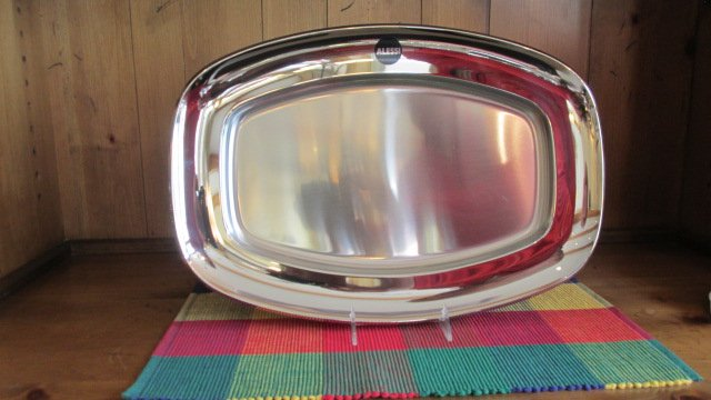 ALE STAINLESS SERVING PLATTER 20""