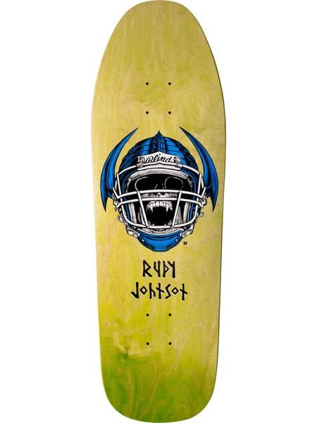 Blind Blind 9.87 Johnson Jock Skull Transfer Deck