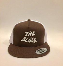 BLOCK Block Wh Swamp Trucker hat Brown/White
