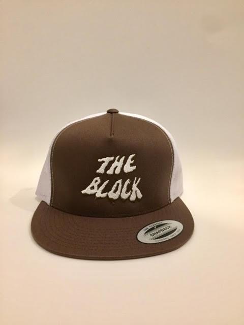 BLOCK Block Wh Swamp Trucker hat Brown/White