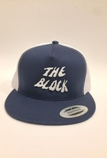 BLOCK Block Wh Swamp Trucker hat Navy/White