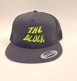 BLOCK Block Y/G Swamp Trucker hat Charcoal