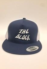 BLOCK Block Trucker Hat Navy/White